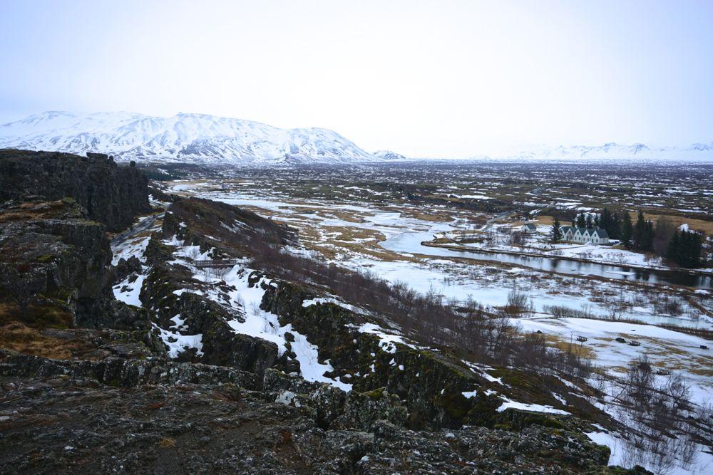 Parc national de Þingvellir - hiver