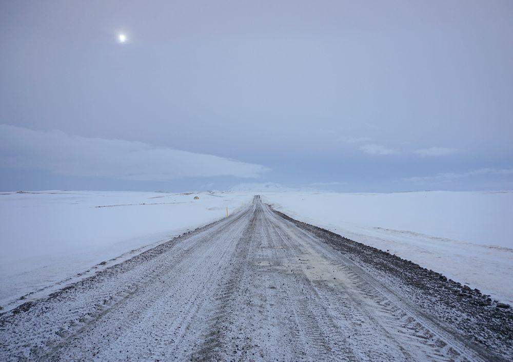 Sur la route pour Þingvellir