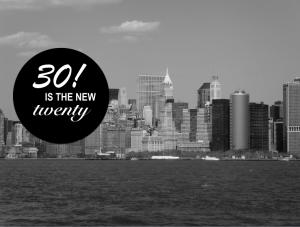 New York - 30 ans