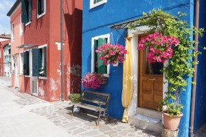 Burano - case colorate