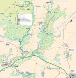 Carte - Brecon Beacons