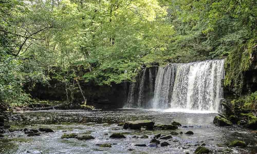 Brecon Beacons et les cascades de Fforest Fawr