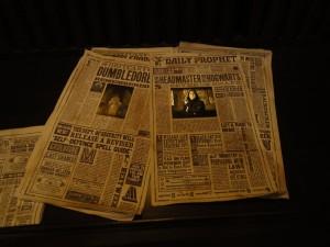 Harry Potter - Gringotts - Journaux