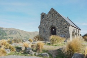 L'église du Bon-Berger est la première église construite par les pionniers dans le Bassin de Mackenzie.