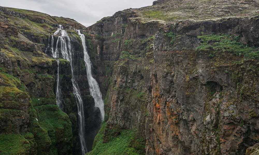 Randonnée vers la cascade de Glymur