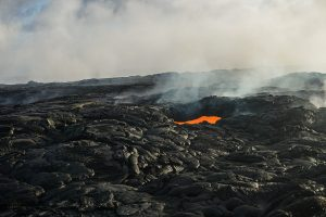 Volcanoes National Park - Hawaii - Lave - Kalapena