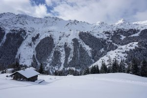 Balade en raquettes au Val d'Hérens - Mandolon