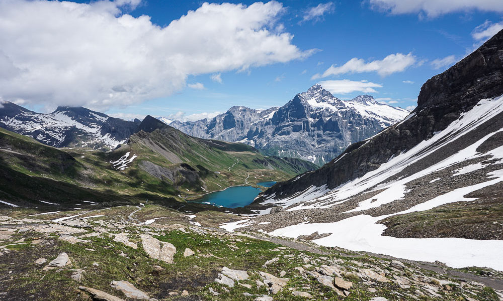 Quand l'Eiger t'accompagne au Bachsee