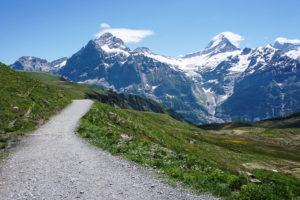 Balade avec l'Eiger jusqu'au Bachsee - Prenez Place