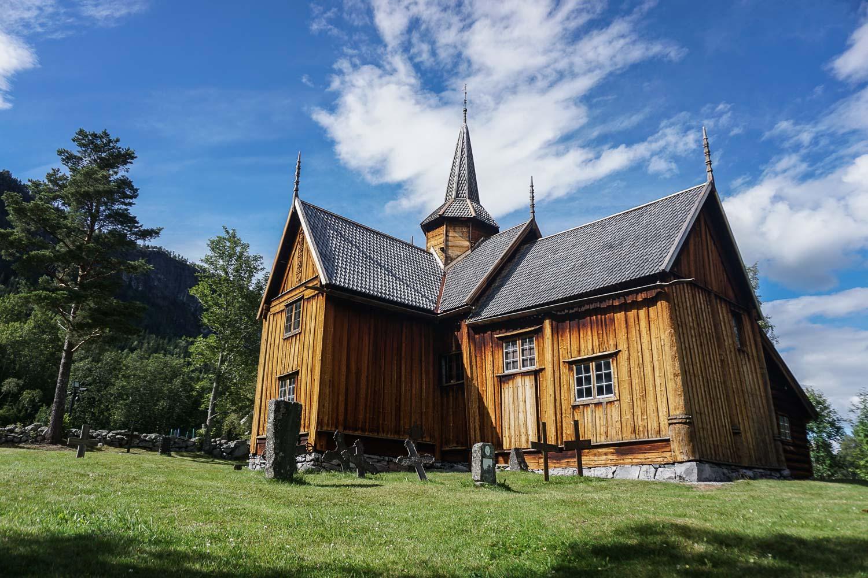 Prenez Place - Une semaine au sud de la Norvège - Nore Stavkirke