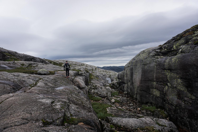 Prenez Place - Une semaine au sud de la Norvège - Kjeragbolten