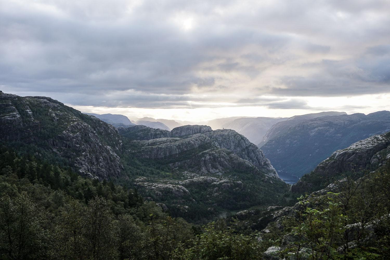 Prenez Place - Une semaine au sud de la Norvège - Preikestolen